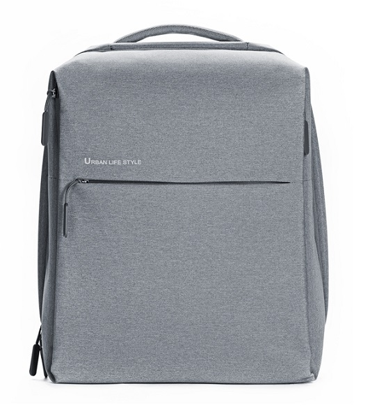 Рюкзак для ноутбука Xiaomi Mi Minimalist Urban Backpack Light Gray фото в интернет-магазине FlashExpert