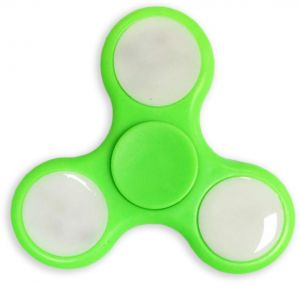 картинка Спиннер Fidget Spinner LED light Green от магазина FlashExpert